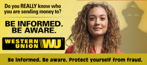 Click Here to learn more about preventing fraud - Western Union - Sponsor of The Scammercast.Com!