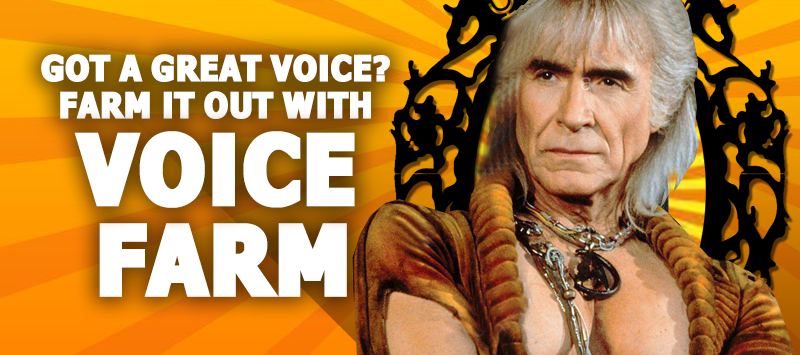 Grow Your Voiceover Careet with - The Voice Farm! VoiceFarmers.Com