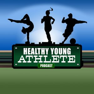 The Healthy Young Athlete Podcast: The Cover Art for Dr. Mark Halstead's Program