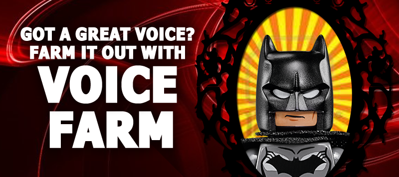 Grow Your Voiceover Career with - The Voice Farm! VoiceFarmers.Com