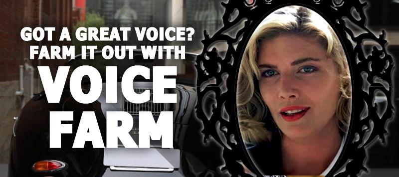 Grow Your Voiceover Career with - The Voice Farm! VoiceFarmers.Com